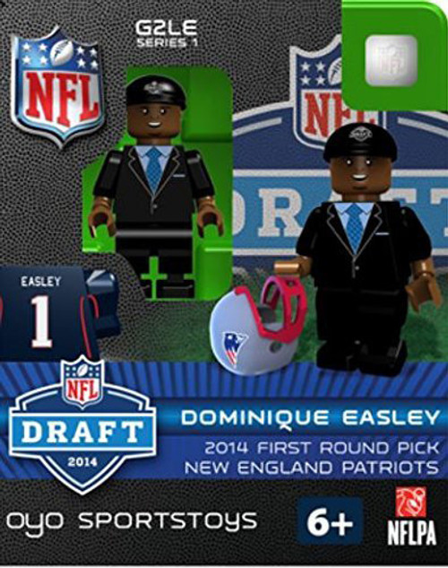New England Patriots Figurine 2014 Draft Pick OYO Sportstoys Dominique Easley
