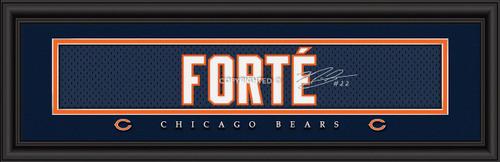 Chicago Bears Print 8x24 Signature Style Matt Forte