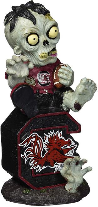 South Carolina Gamecocks Zombie Figurine - On Logo w/Football