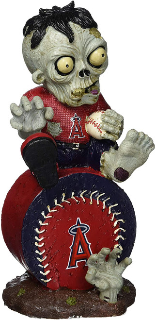 Los Angeles Angels Zombie Figurine - On Logo
