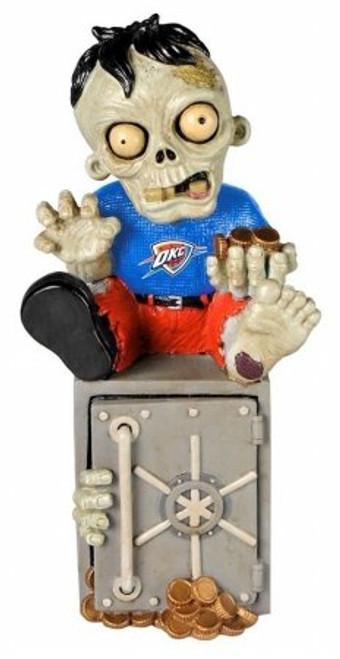 Oklahoma City Thunder Zombie Figurine - On Logo