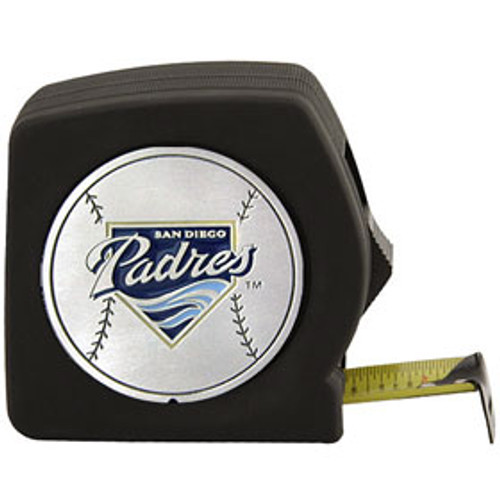 San Diego Padres Black Tape Measure CO