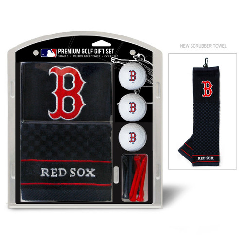 Boston Red Sox Golf Gift Set with Embroidered Towel - Special Order