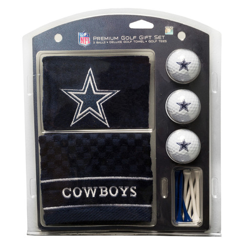 Dallas Cowboys Golf Gift Set with Embroidered Towel