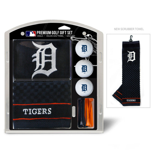 Detroit Tigers Golf Gift Set with Embroidered Towel - Special Order