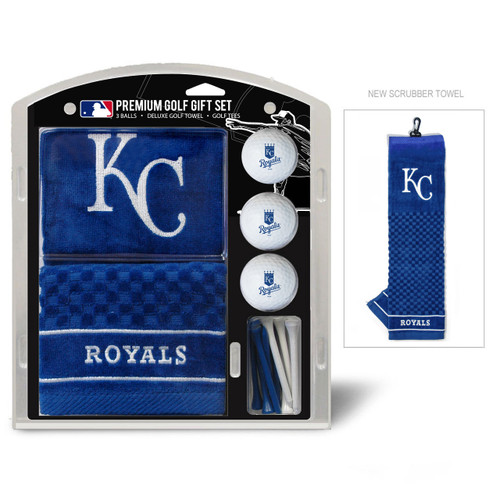 Kansas City Royals Golf Gift Set with Embroidered Towel - Special Order