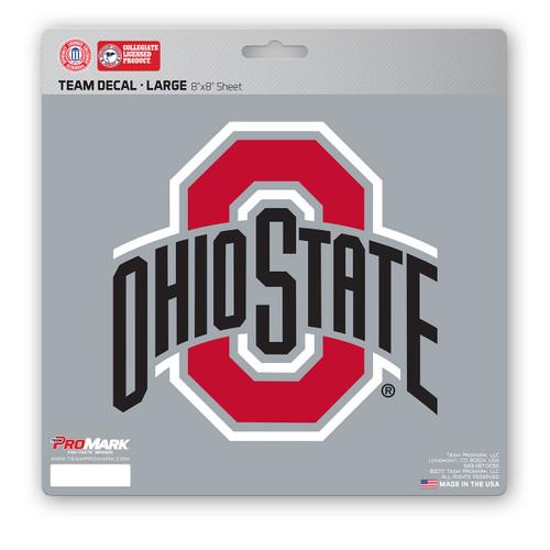 Ohio State Buckeyes Decal 8x8 Die Cut