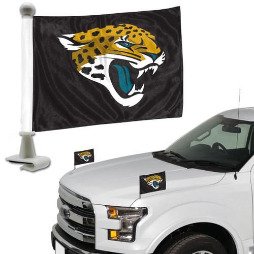 Jacksonville Jaguars Flag Set 2 Piece Ambassador Style
