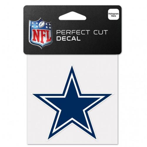Dallas Cowboys Decal 4x4 Perfect Cut Color