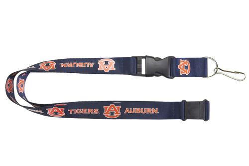 Auburn Tigers Lanyard Blue