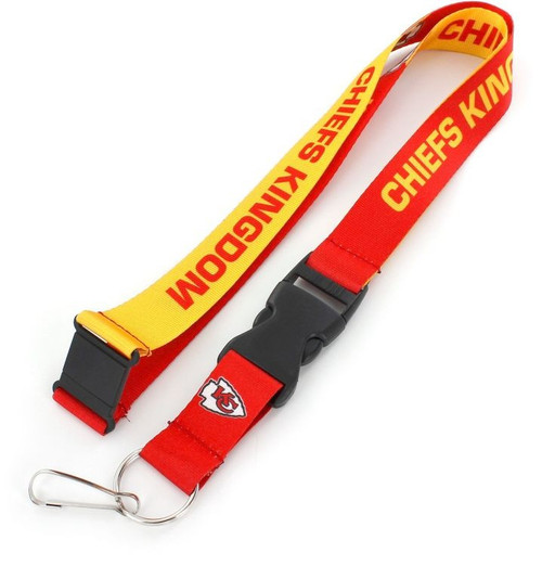 Kansas City Chiefs Lanyard Breakaway Style Slogan Design