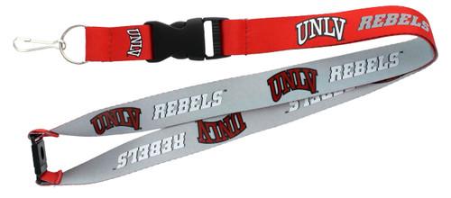 UNLV Runnin' Rebels Lanyard Reversible - Special Order