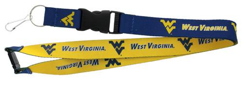 West Virginia Mountaineers Lanyard Reversible - Special Order