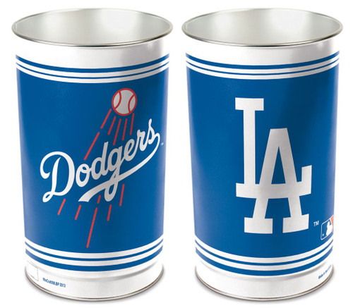 Los Angeles Dodgers Wastebasket 15 Inch