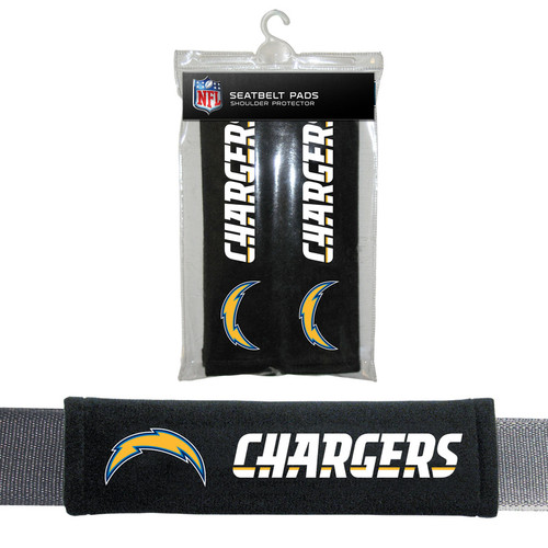 Los Angeles Chargers Seat Belt Pads CO