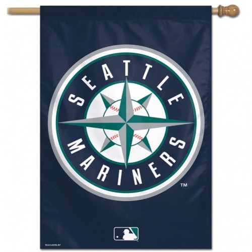 Seattle Mariners Banner 28x40 Vertical - Special Order