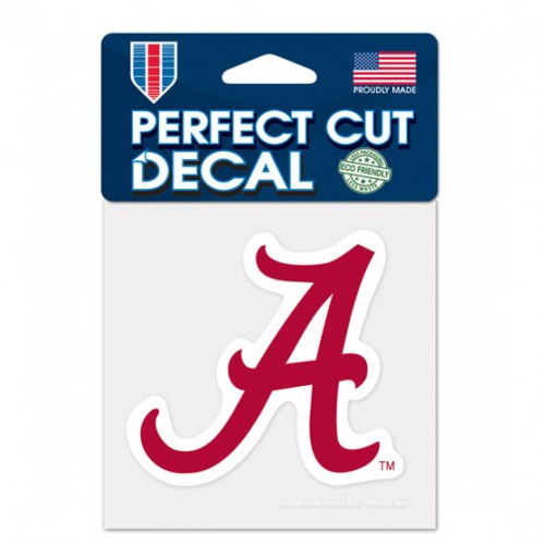 Alabama Crimson Tide Decal 4x4 Perfect Cut Color