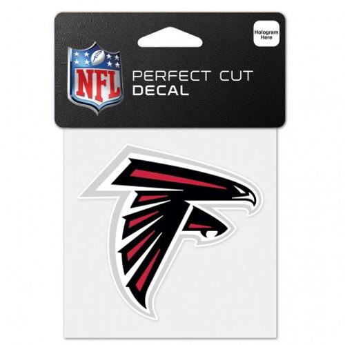 Atlanta Falcons Decal 4x4 Perfect Cut Color