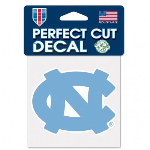 North Carolina Tar Heels Decal 4x4 Perfect Cut Color