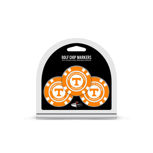 Tennessee Volunteers Golf Chip with Marker 3 Pack - Special Order