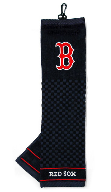 Boston Red Sox Golf Towel 16x22 Embroidered