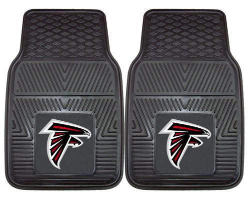 Atlanta Falcons Car Mats Heavy Duty 2 Piece Vinyl