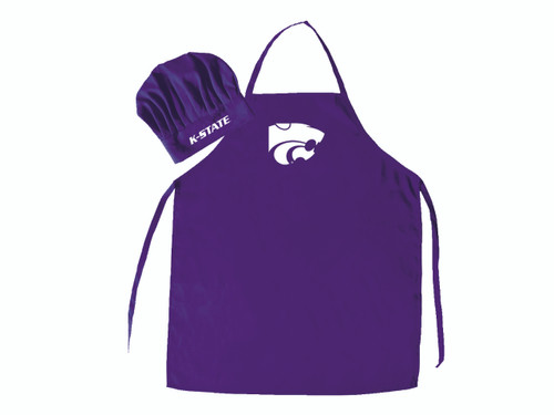 Kansas State Wildcats Apron and Chef Hat Set