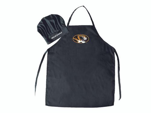 Missouri Tigers Apron and Chef Hat Set