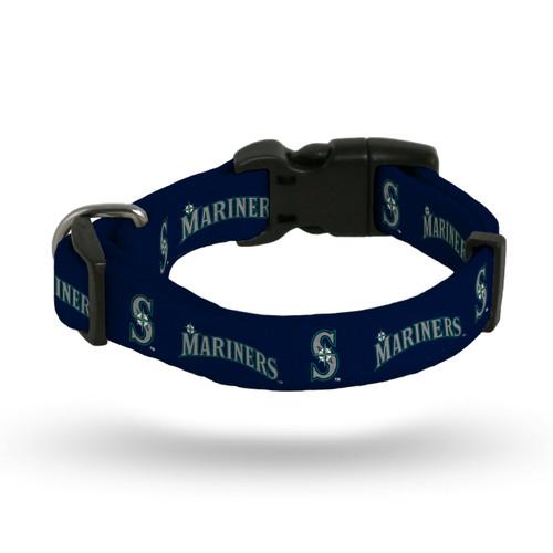 Seattle Mariners Pet Collar Size M