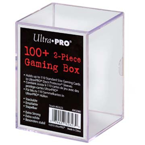 100ct 2-Piece Case - Gaming Box