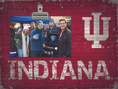 Indiana Hoosiers Clip Frame - Special Order