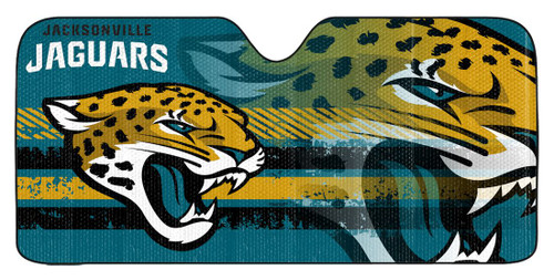 Jacksonville Jaguars Auto Sun Shade 59x27