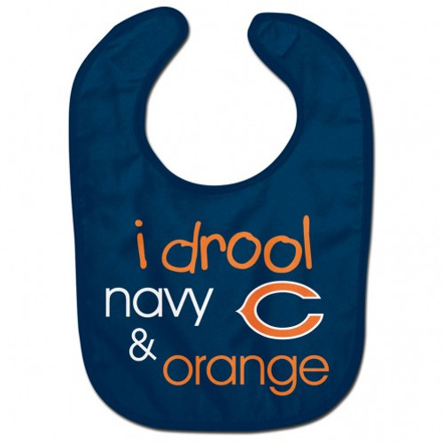 Chicago Bears Baby Bib All Pro Style I Drool Design
