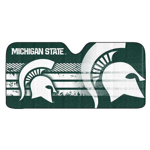 Michigan State Spartans Auto Sun Shade 59x27 - Special Order