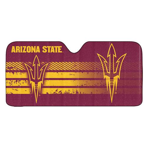 Arizona State Sun Devils Auto Sun Shade 59x27 - Special Order
