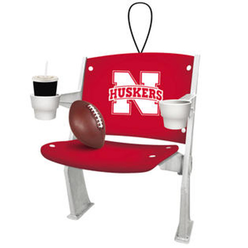 Nebraska Cornhuskers Ornament Stadium Chair Design