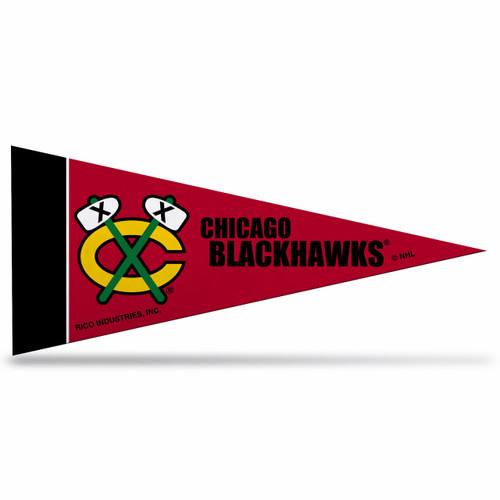 Chicago Blackhawks Pennant Set Mini 8 Piece - Special Order