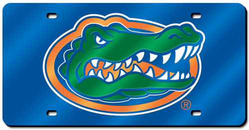 Florida Gators License Plate Laser Cut Blue