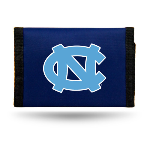 North Carolina Tar Heels Wallet Nylon Trifold