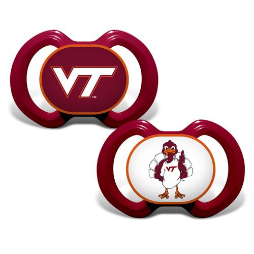 Virginia Tech Hokies Pacifier 2 Pack - Special Order