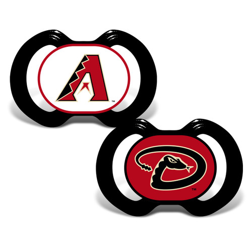 Arizona Diamondbacks Pacifier 2 Pack