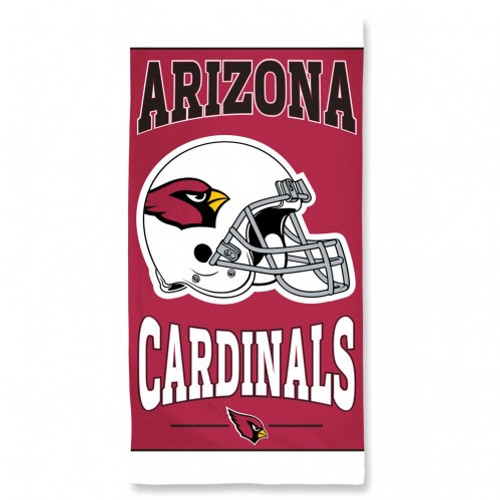 Arizona Cardinals Towel 30x60 Beach Style - Special Order