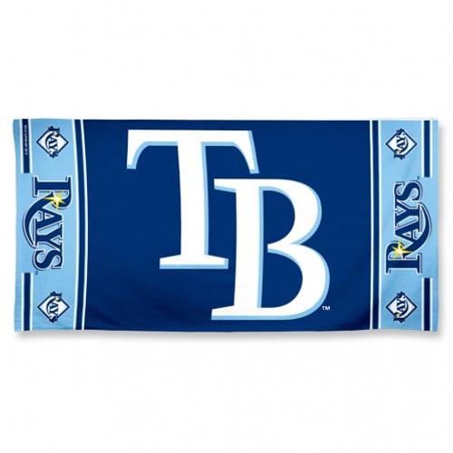 Tampa Bay Rays Towel 30x60 Beach Style