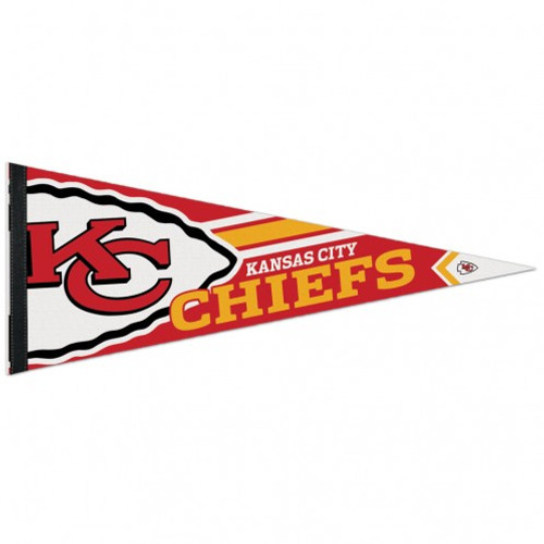Kansas City Chiefs Pennant 12x30 Premium Style