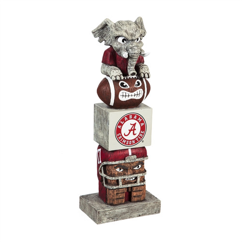 Alabama Crimson Tide Tiki Totem 2018