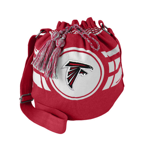 Atlanta Falcons Bag Ripple Drawstring Bucket Style