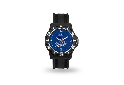 Kansas City Royals Watch Men's Model 3 Style with Black Band - Special Order