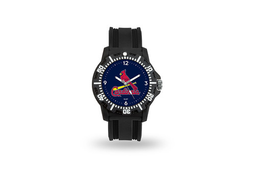 St. Louis Cardinals Watch Men's Model 3 Style with Black Band