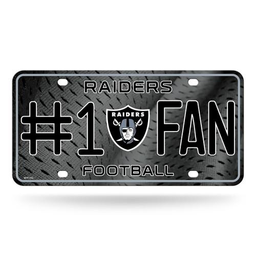 Las Vegas Raiders License Plate #1 Fan