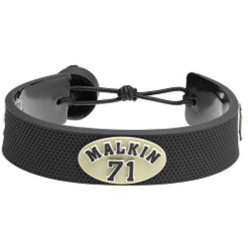 Pittsburgh Penguins Bracelet Team Color Jersey Evgeny Malkin Design